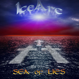 IceArc Sea of Lies Cd cover